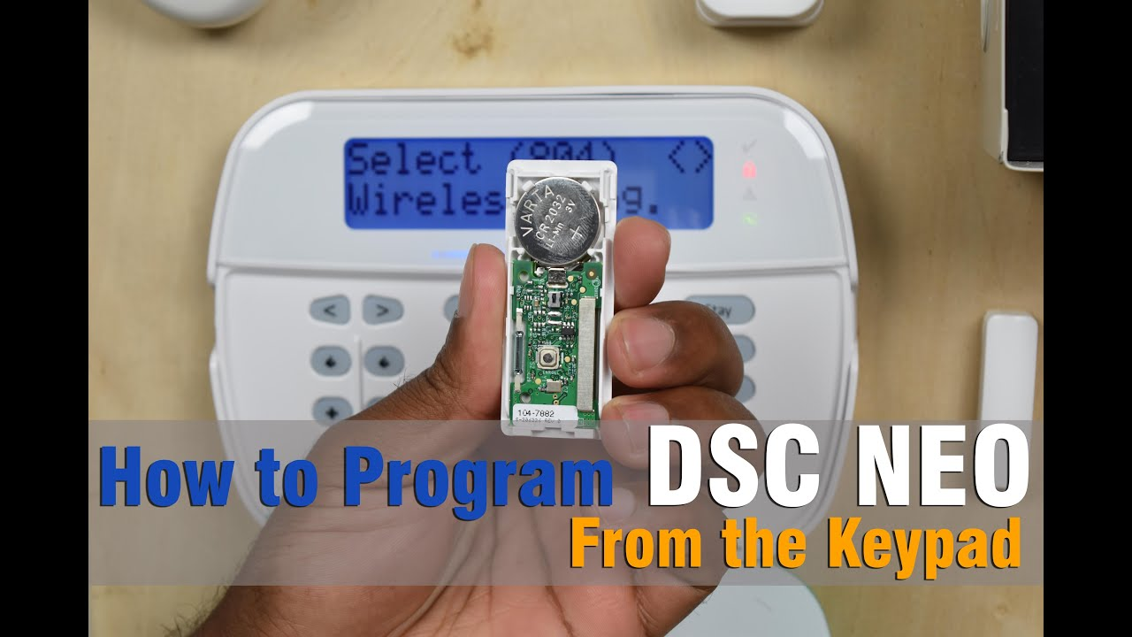 How To Program Dsc Neo From The Keypad Youtube Schematic Diagram Get Free Image About Wiring
