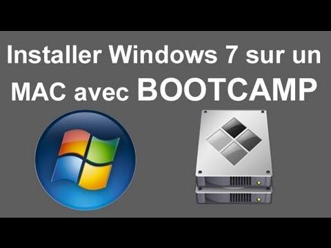 installez bootcamp sur macbook air