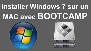 Installer Windows 7 sur un MAC - BOOTCAMP