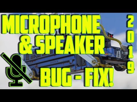 Fortnite Voice Chat Not Working PC - FIX! 2019 Speaker & Microphone