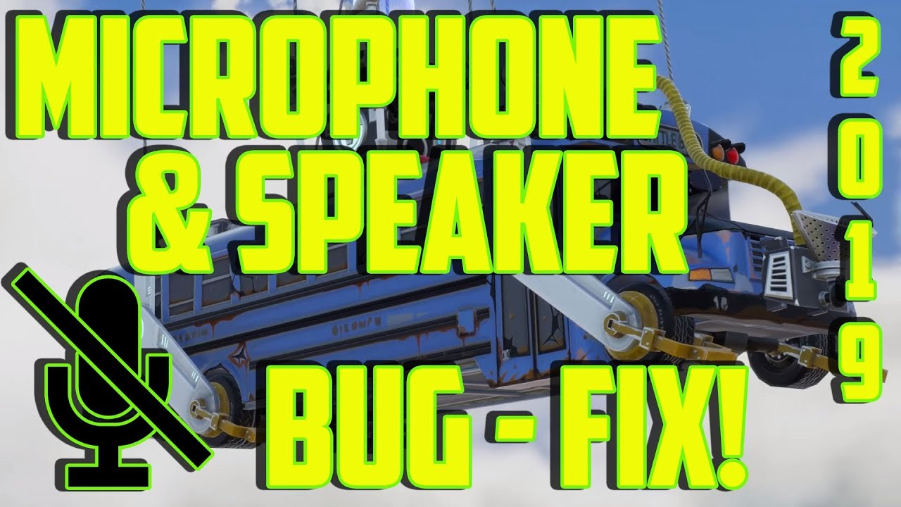 Fortnite Sound Not Working Pc fortnite voice chat not working pc - fix! 2019 speaker & microphone