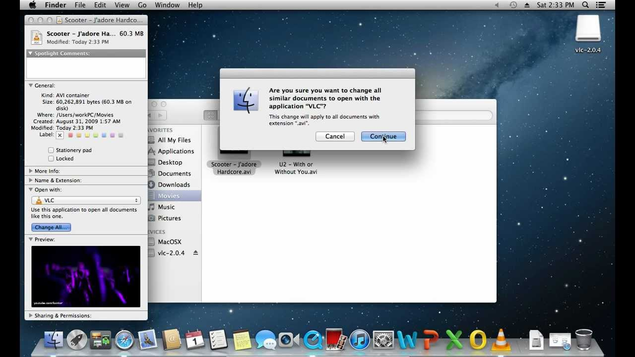 How To Set Vlc As Default Mac Player