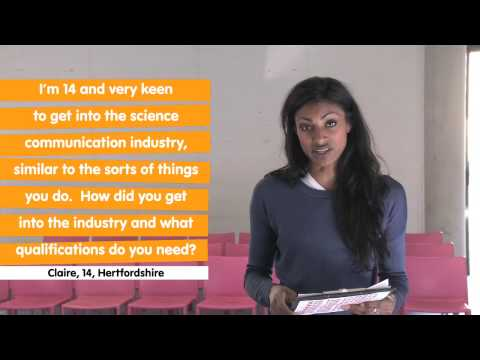 Dr Shini Somara - Ask the experts (bridges, maths, concorde, communication)