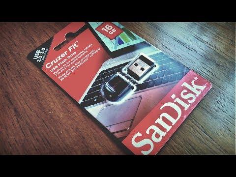 Флешка USB SANDISK Cruzer Fit 16Гб, USB2.0. Обзор и тестик!)