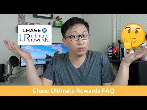 6 Frequently Asked Questions about Chase Ultimate Rewards