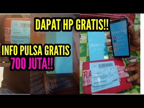 🔴MODAL APLIKASI DAPAT HP GERATIS! + INFO PULSA GRATIS 700JUTA, BURUAN DICOBA GUYS? - 동영상