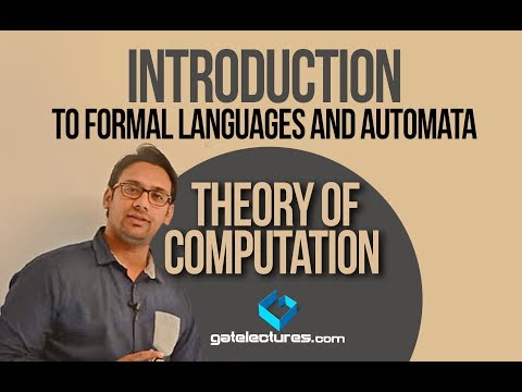 01 Introduction to Formal Languages and Automata - Theory of Computation
