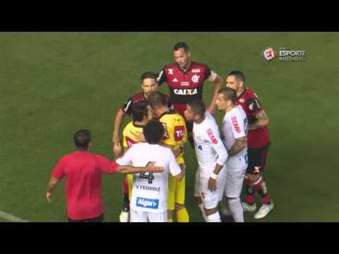 Melhores Momentos - Santos 4 x 2 Flamengo - Copa do Brasil (26/07/2017)