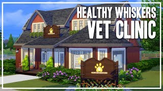 The Sims 4 Speed Build - Healthy Whiskers [Vet Clinic]