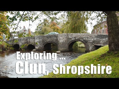 Walking in Shropshire: Exploring Clun