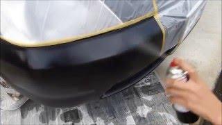 自動車 バンパーのキズ補修 ウレタンクリアー使用 thumbnail