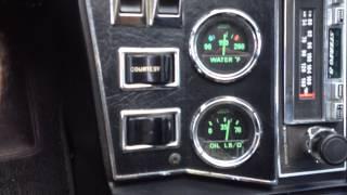 1974 DeTomaso Pantera ORIGINAL PAINT, 11,000 miles. Super nice car