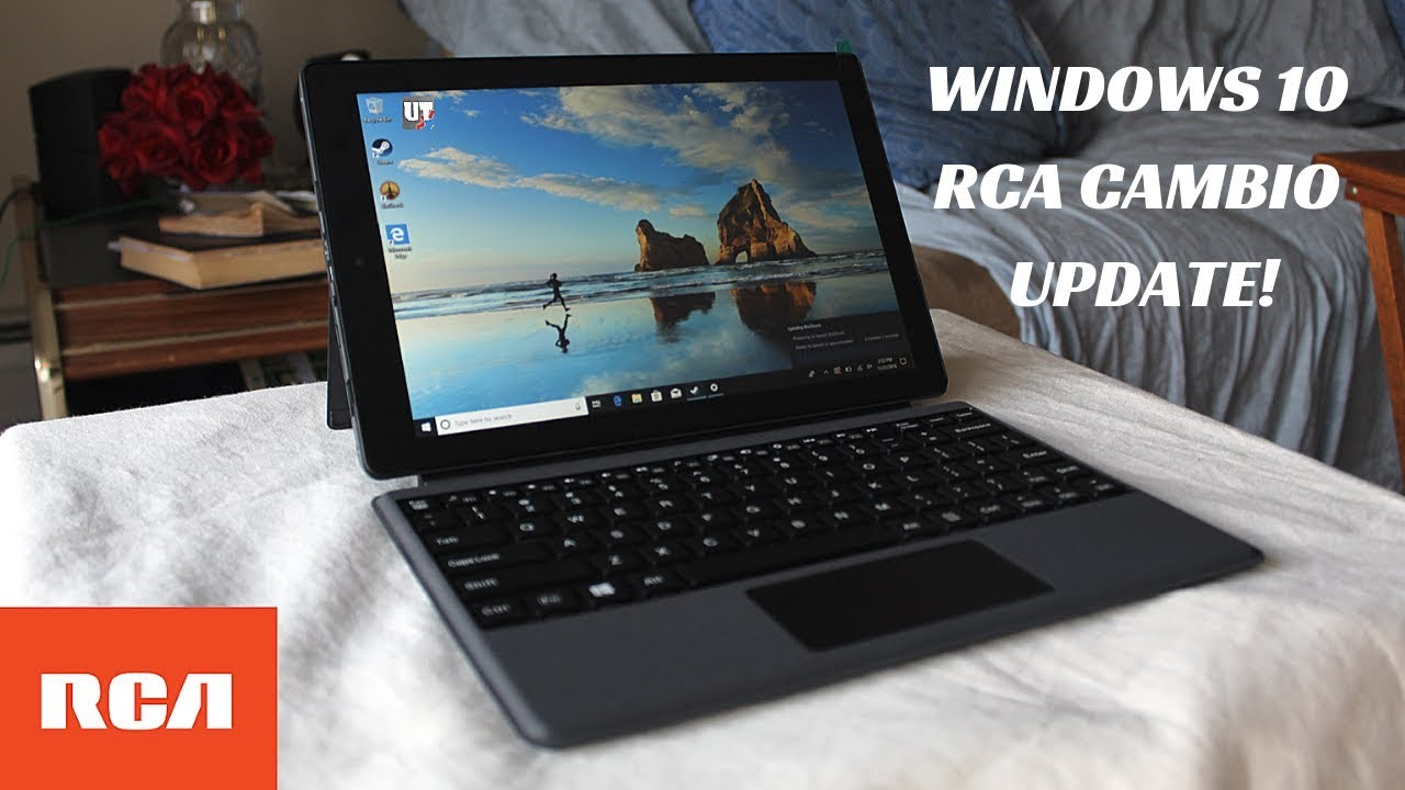 RCA Cambio Windows 10 2-in-1 Tablet Update: You Can Actually Game On It,  But