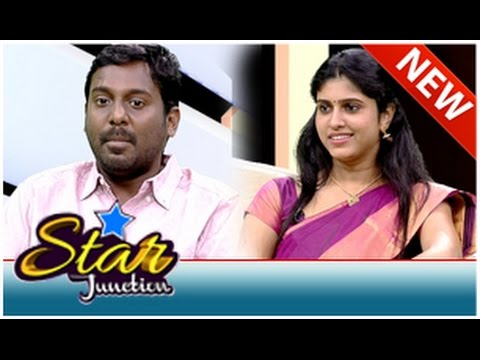 Actor Viay Vasanth & Actress Rasna in Star Junction (05/10/2014)