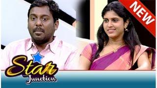 Actor Viay Vasanth & Actress Rasna in Star Junction (05/10/2014)