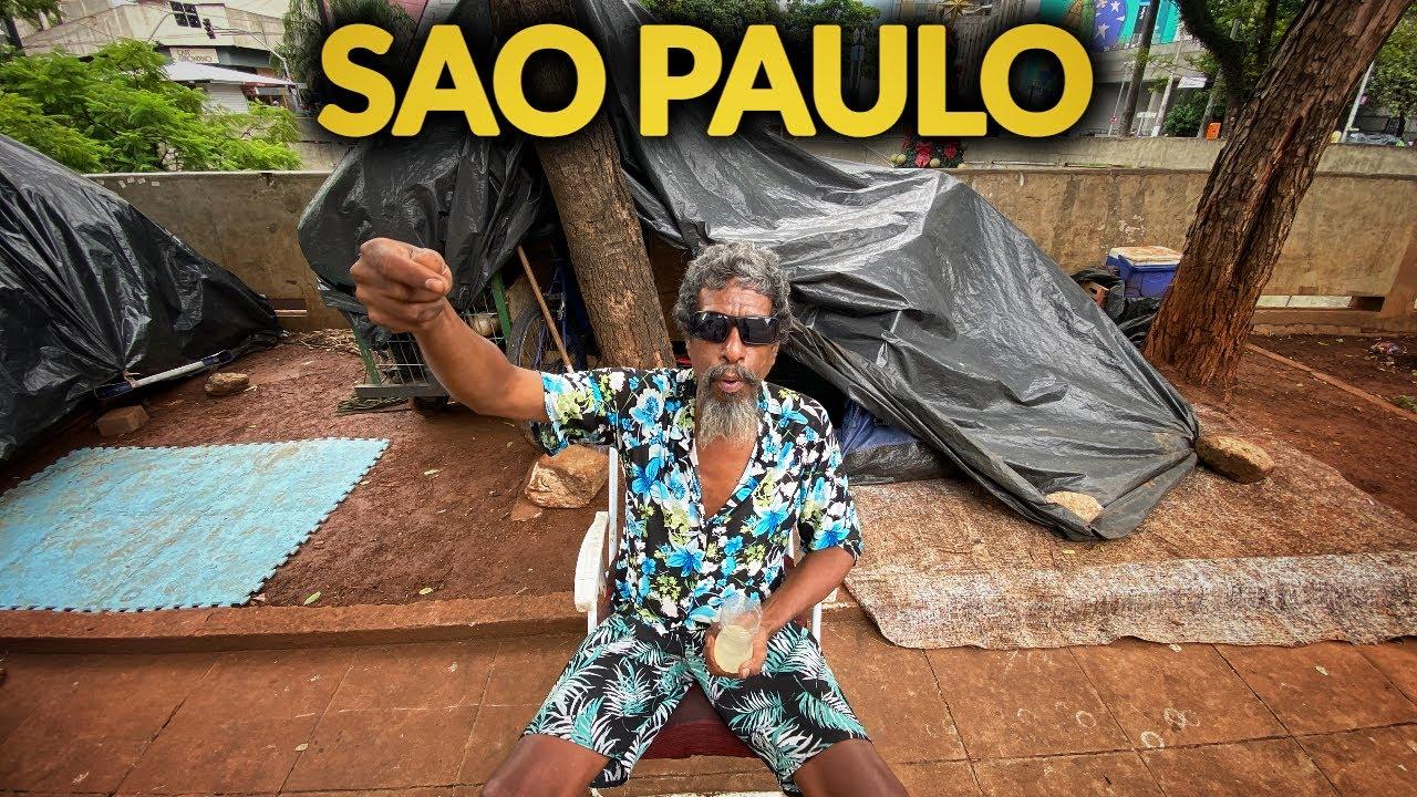 SAO PAULO: explorez strazile MIZERABILE si interoghez CERSETORII