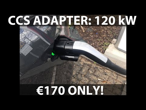 CCS adapter will cost €170 and support 120 kW