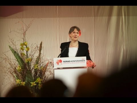 Helen Clark, Administrator of the UNDP - Norad Conference 2014