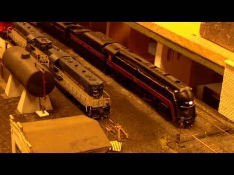 The Union Model Railroad Club Inc HO Scale Show Operation Part 2 Steam Engines