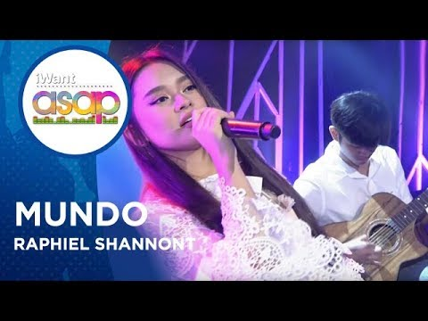 Raphiel Shannon - Mundo | iWant ASAP Highlights