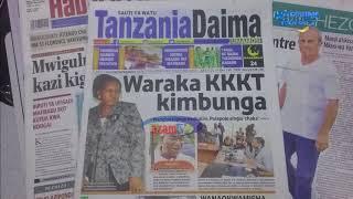 MAGAZETI JUNI 9: KKKT na 'utata' wa kocha Simba SC ndio 'kila kitu leo'