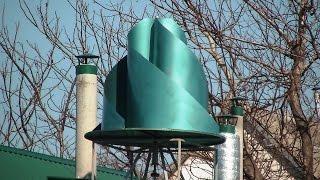 Вертикальный ветрогенератор в Украине