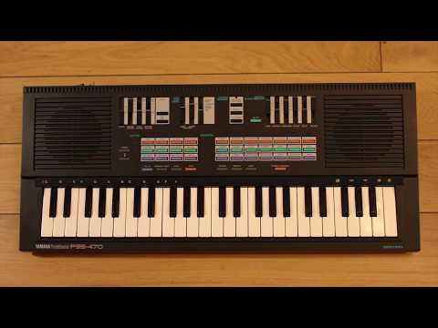 Sequencing the Yamaha PSS-470 'AdLib/Sound Blaster' Synth