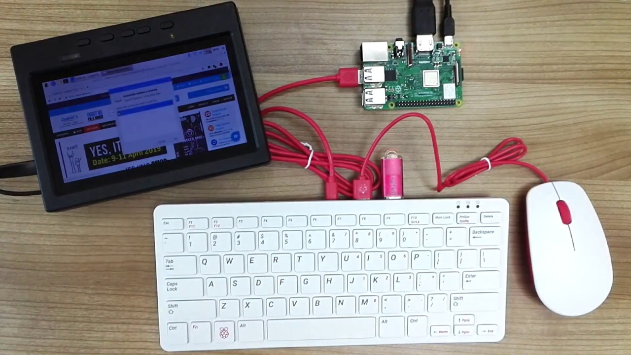 Raspberry Pi Official USB Keyboard and Mouse