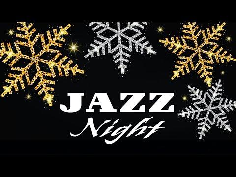 Winter Night - Smooth Piano & Sax JAZZ - Romantic Music