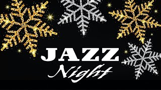 Winter Night - Smooth Piano & Sax JAZZ - Romantic Music