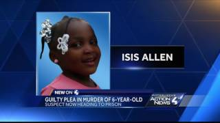 Man gets 15 to 40 years after plea in death of 6-year-old Pittsburgh girl Isis Allen