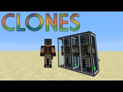 CLONES - MINECRAFT MOD 1.6.4 Videos De Viajes