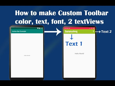 how-to-create-custom-toolbar-with-two-textview-|-android-app-development
