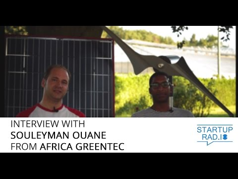 Interview with Souleyman Ouane from Africa GreenTec - Solarcontainer