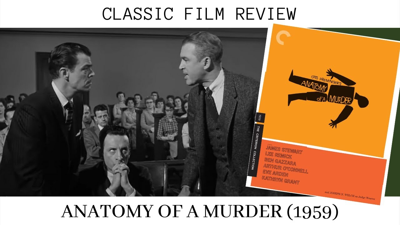 Download Anatomy of a Murder Review (1959) Classic Film   James Stewart   Lee Remick   George C Scott