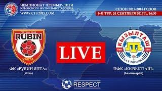 Рубин Ялта — Кызылташ (Бахчисарай). 6-й тур чемпионата ПЛ КФС