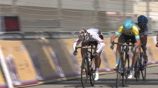 アジア選手権5日目 U23男子ロードで岡本隼がゴールスプリントを制し金メダル獲得!【シクロチャンネル】