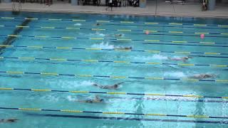 男子甲組 50米自由泳決賽