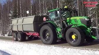 Traktorien Mäkivetokisat Vieremä 14.3.2020