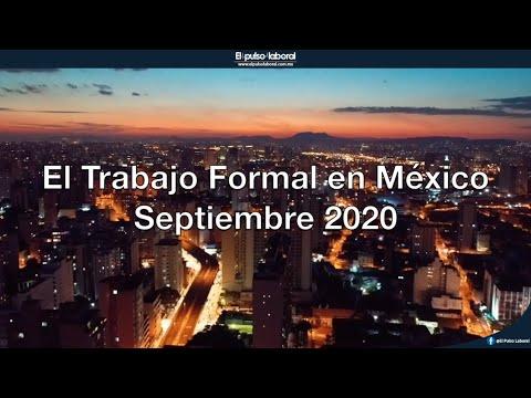 El trabajo formal en México, septiembre 2020 por Manpower LATAM