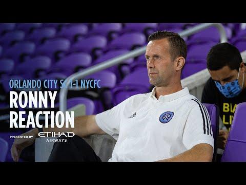 Ronny Reaction   Orlando City SC 1-1 NYCFC