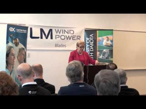 LM Wind Power annouces new Global Research & Development division in Grand Forks