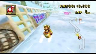 [Mario Kart Wii 300cc TAS] DK's Snowboard Cross 1:14.589