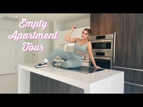 EMPTY APARTMENT TOUR 2020 | Amanda Diaz