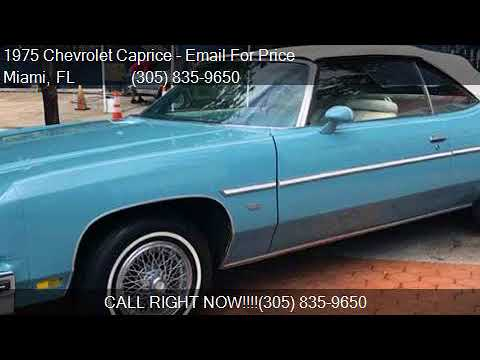 1975 Chevrolet Caprice Convertible for sale in Miami, FL 331