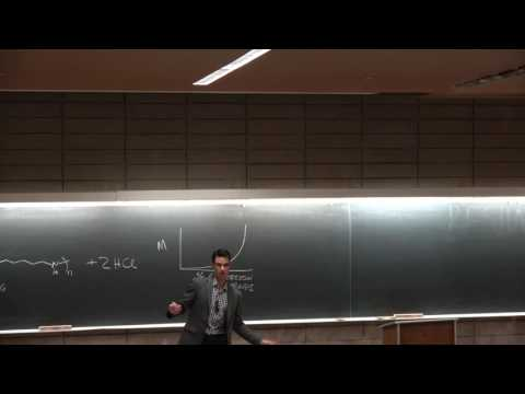 Ep4 Step-growth polymerization, Carothers equation, molecular weight - UCSD NANO 134 Darren Lipomi
