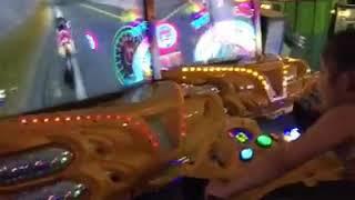 Angelica Hale having fun in arcade such an Angel