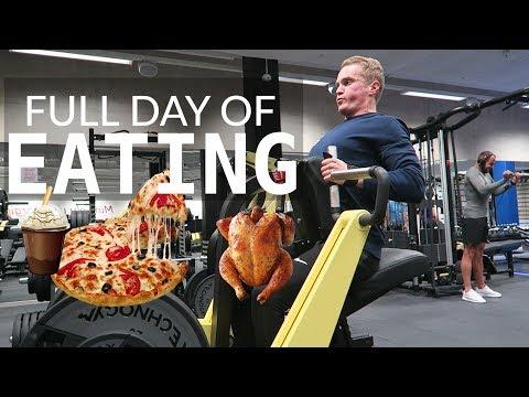 FULL DAY OF EATING | IIFYM | Mida ma tööpäeviti söön? 🍕