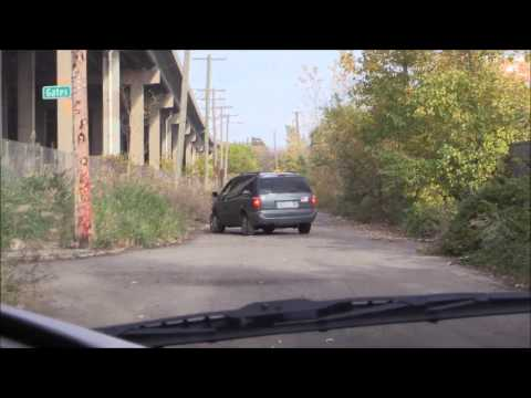 Delray, Under The Rouge Bridge. Southwest Detroit
