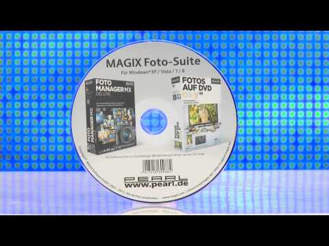 MAGIX Foto-Suite: Foto Manager MX Deluxe & Fotos Auf DVD Easy SE
